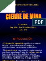 Elaboración en Plan de Cierre Mina
