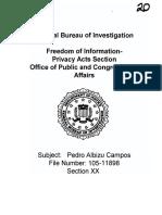 Albizu Campos Death FILE