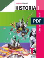 Historia Segundo Vol. 1 del Maestro Telesecundaria.pdf