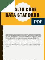 Health Data Stardard