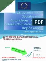 PACTOS SOCIALES Taller Nal Cusco