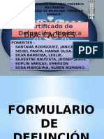 Certificado de Defuncion y Bioetica FINAL