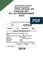 Registro Auxiliar de Evaluacion Primaria 2015 (1)