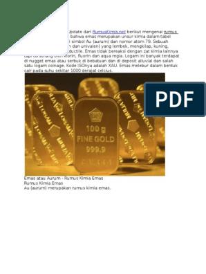 Rumus Kimia Emas Dunia Sosial