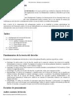 Teoría Del Derecho - Wikipedia, La Enciclopedia Libre