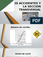 Accidentes y La Seccion Transversal