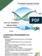 1-Introducao a Biologia
