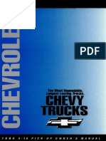 1994 Chevrolet s10 Owners