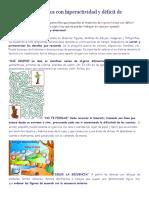 Ejercicios Para Niños Con Hiperactividad y Déficit de Atención