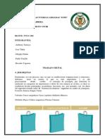 Trabajo Grupal Actividades Modulo 6.2