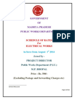 Schedule of rate_MadyaPradesh_Electrical_2012