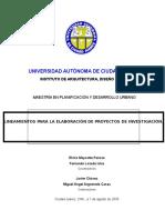 Guia Para La Elaboracion de Proyectos de Investigación