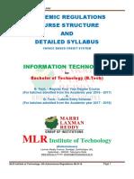 B.Tech-IT-MLR16