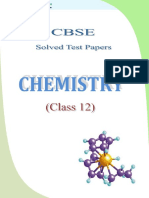 12 Chemistry Test Papers