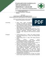 Kriteria 3.1.1. EP 1 SK Penanggung Jawab Manajemen Mutu