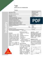 Sikaflex-221 propiedades
