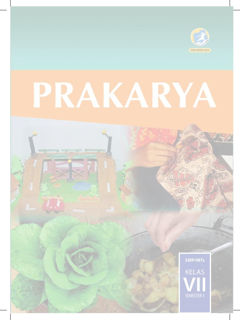 Kelas Vii Prakarya Bs Sem1 Rkb Tegal Sarung Bantal Flanel