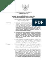 Peraturan Walikota No 65 Tahun 2015