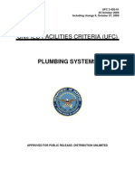 ufc 3-420-01 plumbing systems, with changes 1-8 (october 27, 2009)