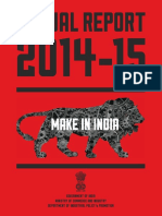 AnnualReport_Eng_2014-15- Make in India