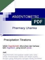 Argentometri Pharmacy Uhamka