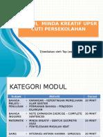 cadangan Modul Latihan UPSR