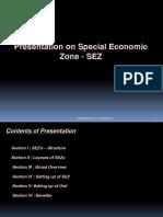 Presentaion Special Economic Zone