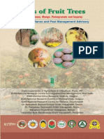Book on Pests of Fruit Trees (Citrus, Banana, Mango, Pomegranate and Sapota) E-Pest Surveillance and Pest Management Advisory