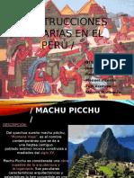 Construcciones Milenarias en El Perú