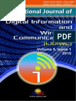 IJDIWC_Volume 5, Issue 1