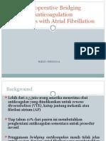 Ppt Perioperative Bridging Anticoagulation