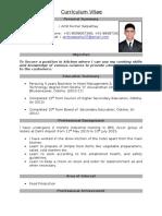 Amit Satpathy CV