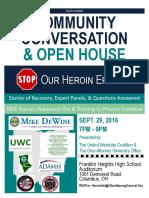 Community Conversation & Open House