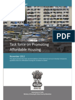 Draft Task Force Report on Promoting Affordable Housing