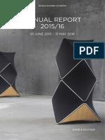 B&O Annual Report 2015-16