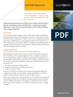 2000x. Sunpower. Key Factors for Solar Performance