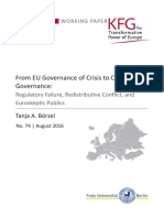 From EU Governance of Crisis to Crisis of EU Governance
