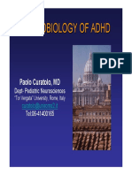 Neurobiology of ADHD Curatolo(1)