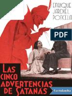 Enrique Jardiel Poncela - Las Cinco Advertencias de Satanas