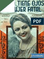 Enrique Jardiel Poncela - Usted Tiene Ojos de Mujer Fatal