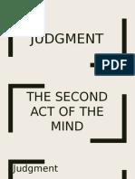 Judgment(LOGIC)