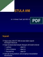 Fistula Ani, JAN 10
