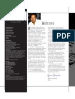 FM Magazine 1st Edition Editor's Page