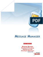 Ooredoo MessageManager SMS MMS Webservice API