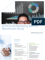 Email Marketing Metrics Benchmark Study 2016