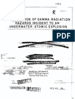 Walmer E. Strope  Investigation of the Gamma Radiation Hazard Incident to an Underwater Atomic Explosion