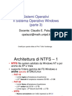 MS Windows-Architettura Di NTFS