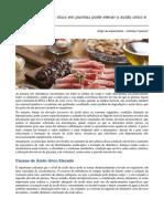 Consumir Alimentos Ricos Em Purinas Pode Elevar o Ácido Úrico e Causar Gota