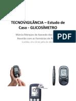 estudo de caso glicosimetro