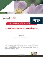 Referencial Cosmeticos Naturais e Organicos Ecocert
